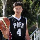 Promising Logan Park High School basketballer Jaren Roy. Photo by Craig Baxter.
