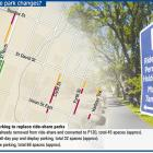 Proposed parking to replace Ride share park. ODT graphic.
