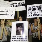 Protesters against the Syrian regime stage a a vigil sit-in to show support to the Syrian...