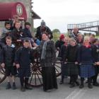 Pupils and teachers from Manning Intermediate (Christchurch) and pupils of Oamaru Intermediate...