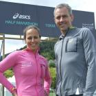 Queenstown International Marathon organisers Michelle Pepper and  Dave Beeche. Photo by Guy...