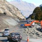 The Gorge Rd upgrade will definitely be sealed before winter arrives, although possibly using a ...