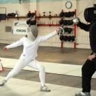 Queen's High School pupil Lisa Goral is a national fencing champion. Photo by Linda Robertson.
