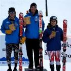 Queenstown alpine skier Adam Barwood tops the podium for the Snow King FIS slalom race in Wyoming...