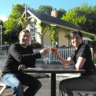 Queenstown Events Management general manager Malcolm Blakey and operations manager Vicky Jenkins...