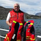Queenstown harbourmaster Marty Black says life jackets are a must this summer. Photo by Olivia...