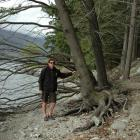 Queenstown Lakes District Council parks manager Gordon Bailey with a tree at the Queenstown ...