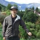 Queenstown Mountain Bike Club president Tom Hey who has found gold-mining sites while building a...