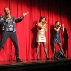 Queenstown musical theatre and cabaret act the Amazicals (from left) Chris Parvin, Nicole McLean,...
