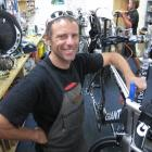 Racers Edge bike mechanic David Drake has about 900 bike checks to complete by next Friday for...