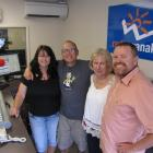 Radio Wanaka owners Jacque (45) and Mike Regal (52), left, who will take over the business from...