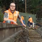 Real Journeys project engineer Drew Bryant oversees a project to upgrade the century-old Kelvin...