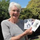 Recently retired Ranfurly Medical Centre practice nurse Elaine Aitken with photos of the three...