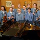 Rehearsing at St Hilda's Collegiate are pupils (from left) Katie Cooper (15), Katie Knowles (15),...