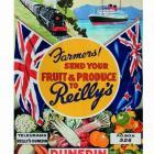 Reilly's Poster, Railways Studios, c.1950. Photos courtesy of Alexander Turnbull Library.
