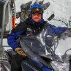 Remarkables ski patrol team leader Jonathan Gillan (37), originally from Australia. Photo by Ben...