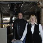 Restaurateurs Helen Mason and Grant Cockroft in the Lower Stuart St premises being redeveloped by...