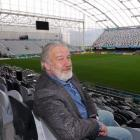 Retired judge and chairman of Dunedin Venues Sir John Hansen at the Forsyth Barr Stadium in...