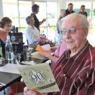 Retired Mosgiel police officer Scott Kerr celebrates his 90th birthday with family from...