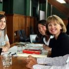 Rhys Millar and Natasha Garvan, from Food, Farms and Freshwater, Sarah Williams, from Contact...