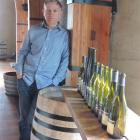 Rippon winemaker Nick Mills. Photos by Charmians Smith.
