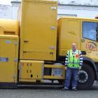 Road expert: WDM operations manager Nigel Scott was in Gore last week with the one-of-a-kind...