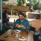 Robin Charteris in Tashkent in 1994. Photo by Judi Charteris