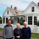 Robin Yule (left), the great-great-grandson of the first owner of Invercargill's Yule House, with...