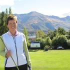 Robyn Boniface, of Invercargill,  after  success in the  national women's match play championship...
