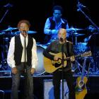 rt Garfunkel and Paul Simon play to a sold out Vector Arena in Auckland in June 2009. Photo by...