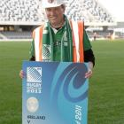 Rugby World Cup 2011 chief executive Martin Snedden at  Forsyth Barr Stadium in Dunedin,  where...