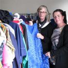 Rural Art Deco Maniototo Inc chairwoman Diane Paterson (left) and vice-chairwoman Amie Pont were...