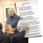 Ruth Wylie donates the original score of an anthem written for the University of Otago by James K...