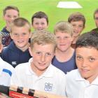 Ryan Gardiner (11), Trent Thomson (11), Finn McDonald-Page (11), (second row) Mason Cumming (11),...
