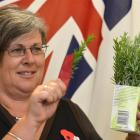 Sally Turner, of the Dunedin Returned and Services' Association, hopes there will be a good...