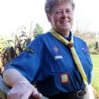 Sandra Hawkins will be presented with Scouting New Zealand's Silver Tiki award on Sunday. Photo...