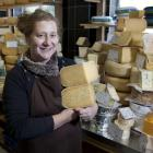Sarah Aspinwall in the Arts Centre shop, trading again after the quakes. Photo by NZ Herald.