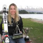 Sarah Jarvis took a moment to relax in Queenstown in the middle of a hectic week of four race...