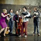 Scottish folk band Breabach (from left) Megan Henderson, Ewan Robertson, James Lindsay, Calum...