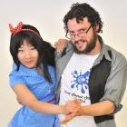 Scout Liu (24, left) and Joel Cunningham (30), of Swing Riot, demonstrate swing dance at Clubs...