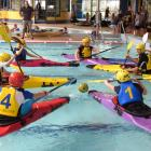 Secondary schools will converge on Oamaru next month for the canoe polo championships. Photo...