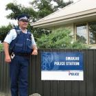 Senior Constable Darren Cox, the new man on the job in Omakau. Photo by Sarah Marquet.