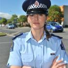 Senior Sergeant Tania Baron, acting road policing manager, is concerned about the high number of...