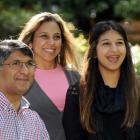 Settling their daughter Priyaanka Khatri into life at Otago University are former students Pramod...