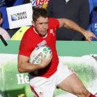 Shane Williams scores a try for Wales against Samoa in Hamilton. Williams has recovered from...