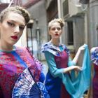 Shanghai fashion designer Mingcheng Zhu brings traditional Chinese opera into a new age. Photos...