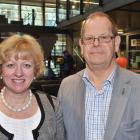 Sharon van Turnhout and George Benwell both of Dunedin