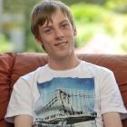 Shaun Markham, who has cerebral palsy. Photo by Christine O'Connor.