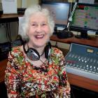 Sheila Shuttlebus on the airwaves on Otago Access Radio. Photo supplied.