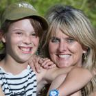 Shelley Bridgeman says her daughter Katie, 11, hasn't suffered socially from not having siblings....